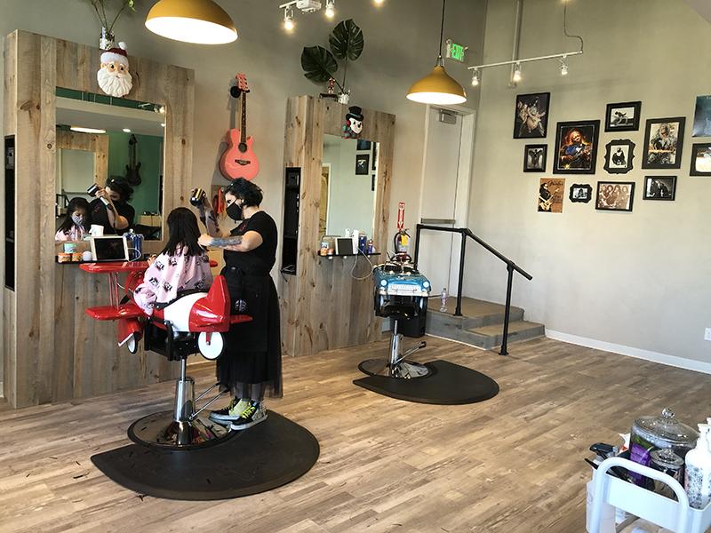 The Knotty Kids Salon Space